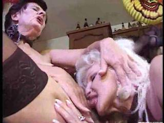 naughty old lesbos into a heat