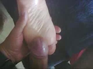 white cream on my wifes feet.
