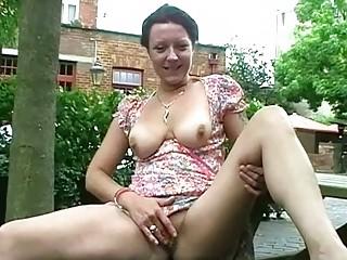 outside masturbation of older  shaz