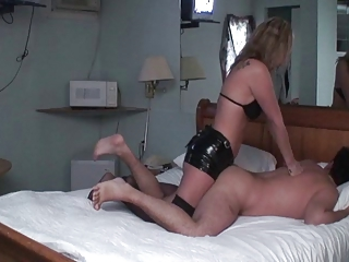 housewife housewife pounds husbands bottom with