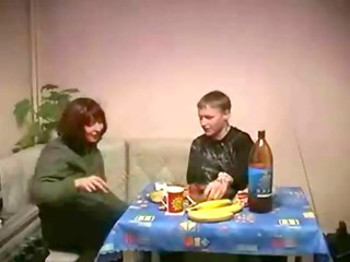 russian older lady and son porn