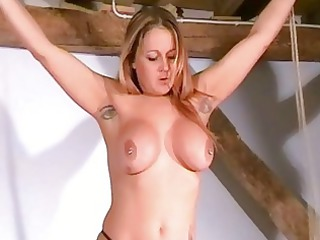merciless breast tortures of horny mature babe