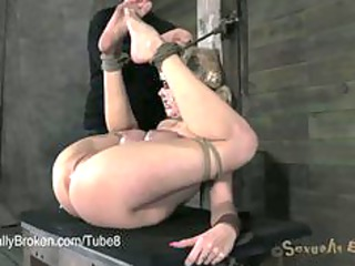 super woman banged rough in bondage