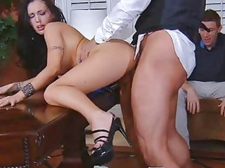 super sexy woman cuckold with psychologist