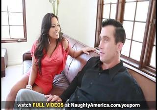sexy latina adrianna luna bonks her husband's