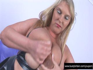 large bossom carol black latex pleasure