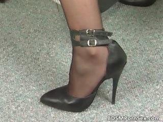 bondage game where brunette naughty woman