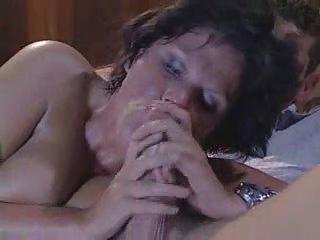 british older  aunty drilling with fresh boy
