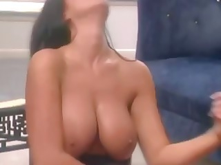 hot milf with huge boobs enjoys roleplay inside