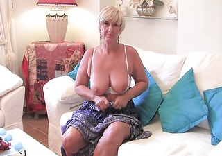 granny with large breasts