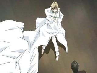anime twink having a worship hour wih his teenager