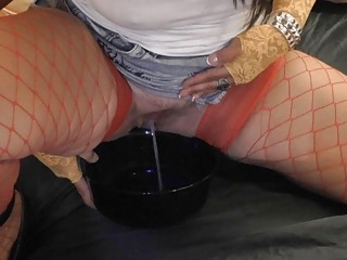 whore lady enjoys nasty piss games