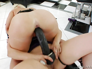 matures homosexual women with huge strapons into