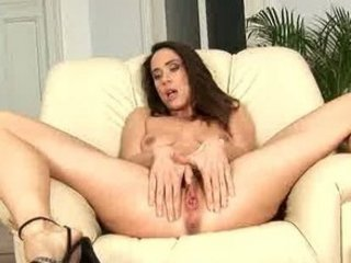 shaggy brunette woman orgasm