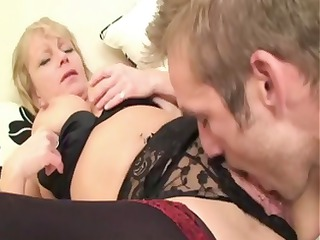 shorthaired mature albino crawls inside with a