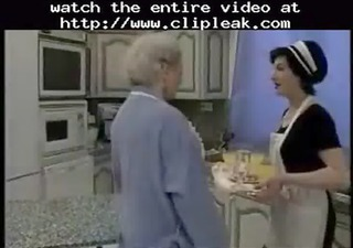 granny receives fisted
