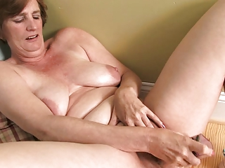 ray leah older  plastic cock masturbation