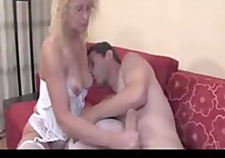 larger cock huge creampie aged older porn granny