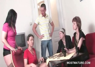 wild mature party whores sharing legal age