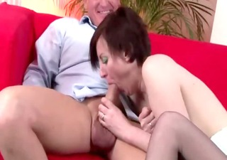 mature british lady in nylons spanked by chap