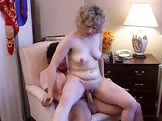stunning cougar fresh worships to gang bang