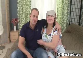kucharka is a european grandma who never leaves