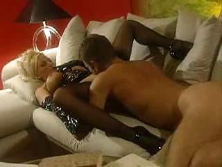 albino mature babes into latex obtaining banged