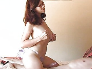 desperate momma with glasses inside panties licks