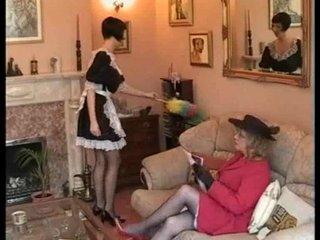 grownup spanks maid