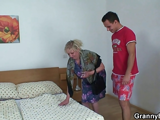 moaning old drives amateur meat