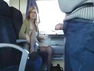 outdoor porn inside the train with slutty mature