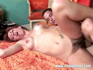 hot housewife with sweet hairy beaver