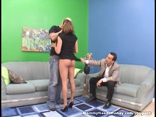 super mommy bangs on cam for cash