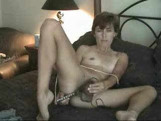 young grownup shaggy mature babe milf solo