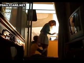 peeping tom bangs a home housewife
