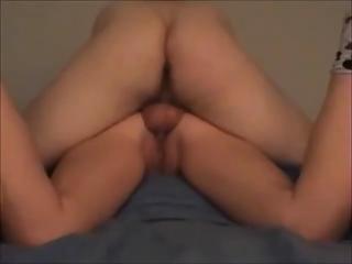 bum lady own bottom sperm