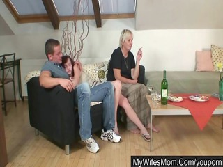 home party with her mom goes enormously bad