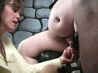 extreme older femdom lady bizarre cbt fetish