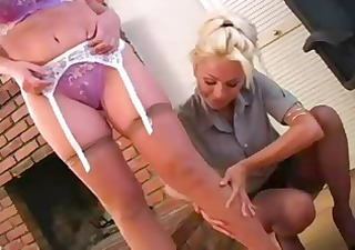 lesbo at the office 8