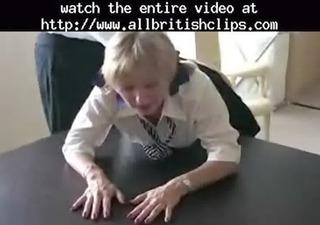 mature british golden-haired charlotte