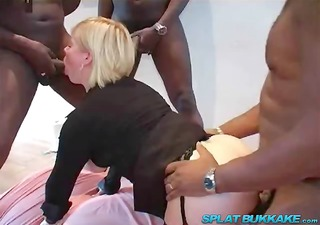 big darksome dick anal gangbang party