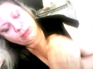 fat bleached woman fuck tape