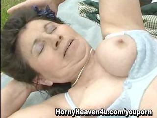 elderly public porn