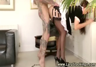 hot older nylons doxy receives screwed