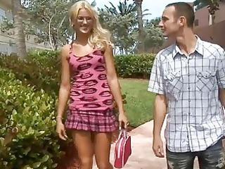 lustful teenage enjoys cougar dick