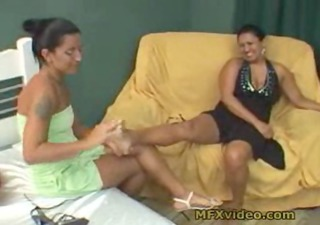 mother and daughter foot fetish masturbation