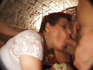 french cougar n27 brunette ass woman bang in disco