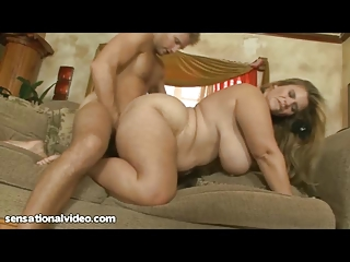 gorgeous bbw lady acquires cave gangbanged by