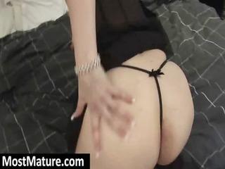 older bitch enjoy with her curvy ass